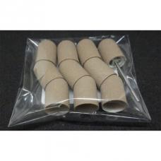 Набор 10 колпачков + основа Мультибор, 10 мм, серый (180 гритт)