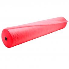Простынь для педикюра в рулоне (100м*0,6м), красная