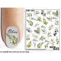 Слайдер-дизайн для ногтей CW-101