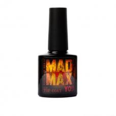 Супер стойкий топ без липкого слоя без UV фильтра Yo!Nails Mad Max, 8 мл