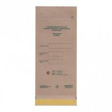 Коричневые крафт- пакеты 100 шт (100х250мм)  Медтест