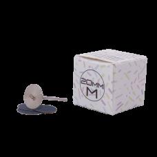 Металлическая основа - диск 20 мм с одноразовыми файлами (Подо диск)