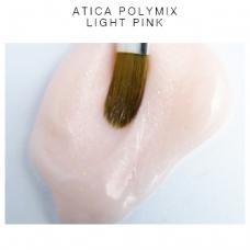 Акригель ATICA Polymix, Light Pink с шиммером, 60 мл